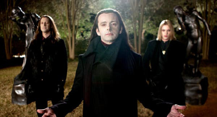 Twilight scene with three antagonist depicting a toxic environment which is bad for professional development.