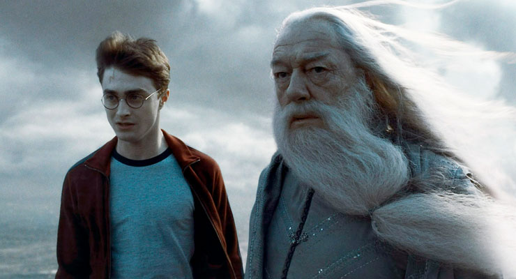 Albus Dumbledore (Michael Gambon) is such an important mentor to Harry that he becomes the namesake for Harry's child: Albus Severus Potter. Photo credit: Warner Brothers